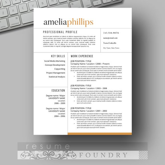 resume design look professional with an easy to use template instant open in resumes tn Resume Eye Catching Resume Templates Free