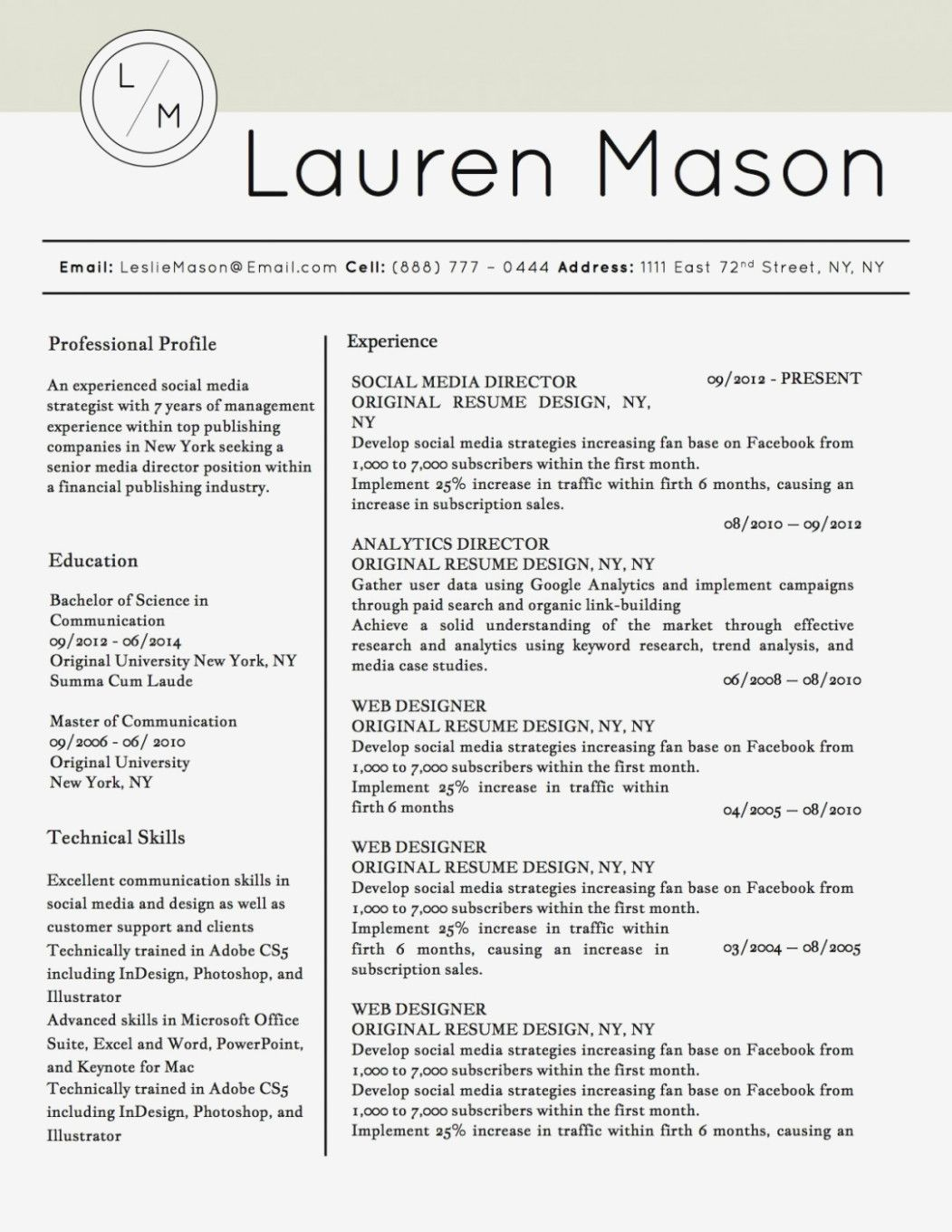resume examples that stand out templates template word job microsoft layouts basic Resume Resume Layouts That Stand Out