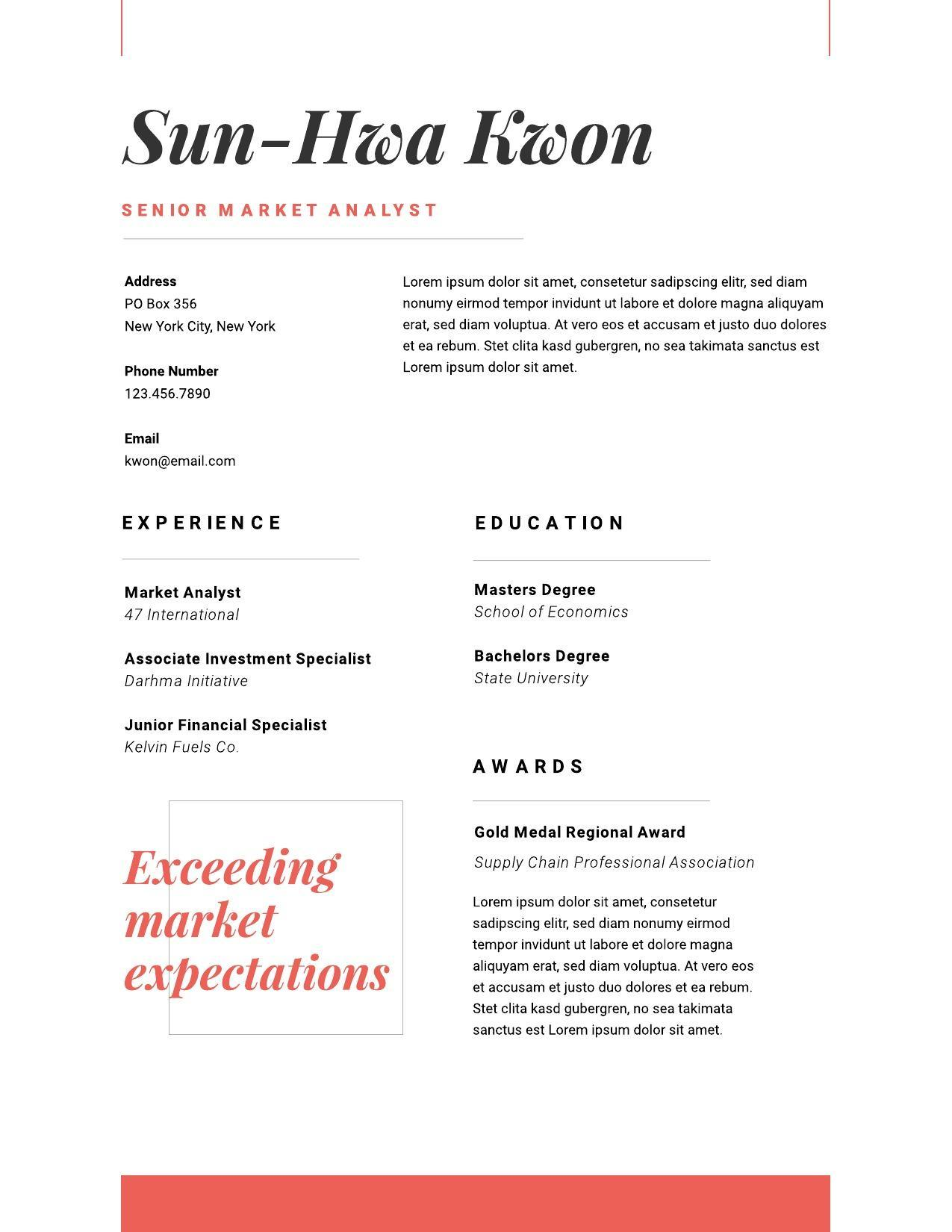 resume examples writing tips for lucidpress and samples image01 ot staff nurse fast food Resume Resume Writing Tips And Samples