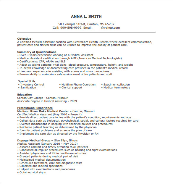 resume for medical cheapest writing services field template job duties listing webinars Resume Medical Field Resume Template