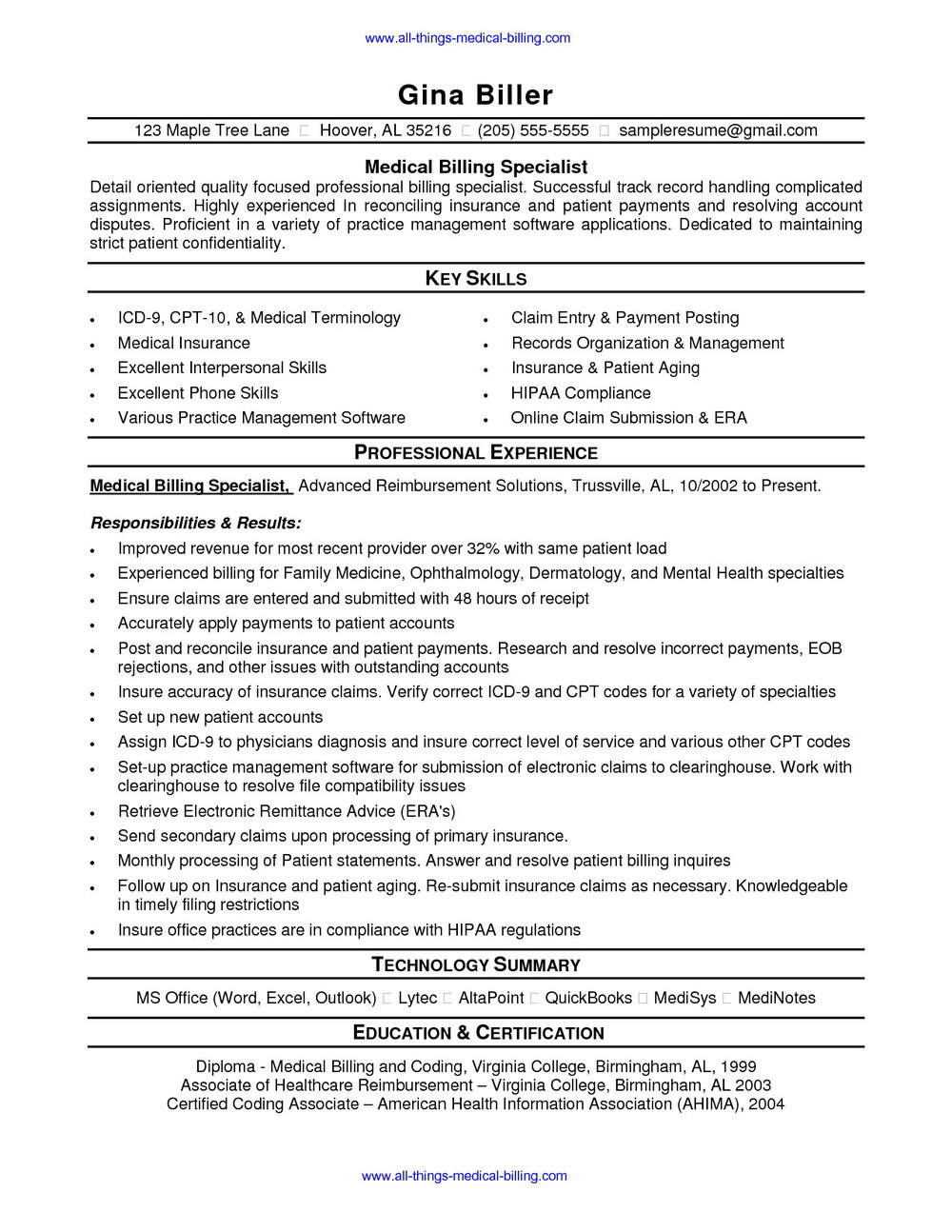 resume for medical coding and billing entry level top objective examples you can exchange Resume Medical Billing And Coding Resume