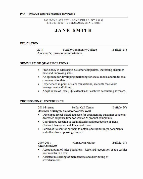 resume for part time job new basic resumes examples students student sample counselling Resume Resume For Part Time Job Student