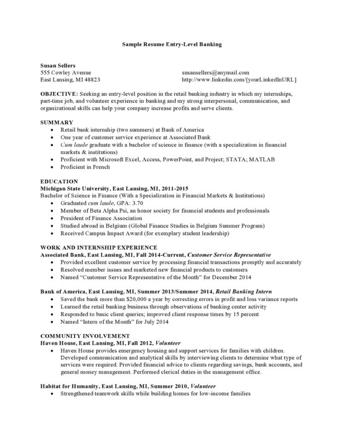 resume format for year experienced mechanical engineer it job sample cover letter one Resume Tim Hortons Shift Supervisor Resume