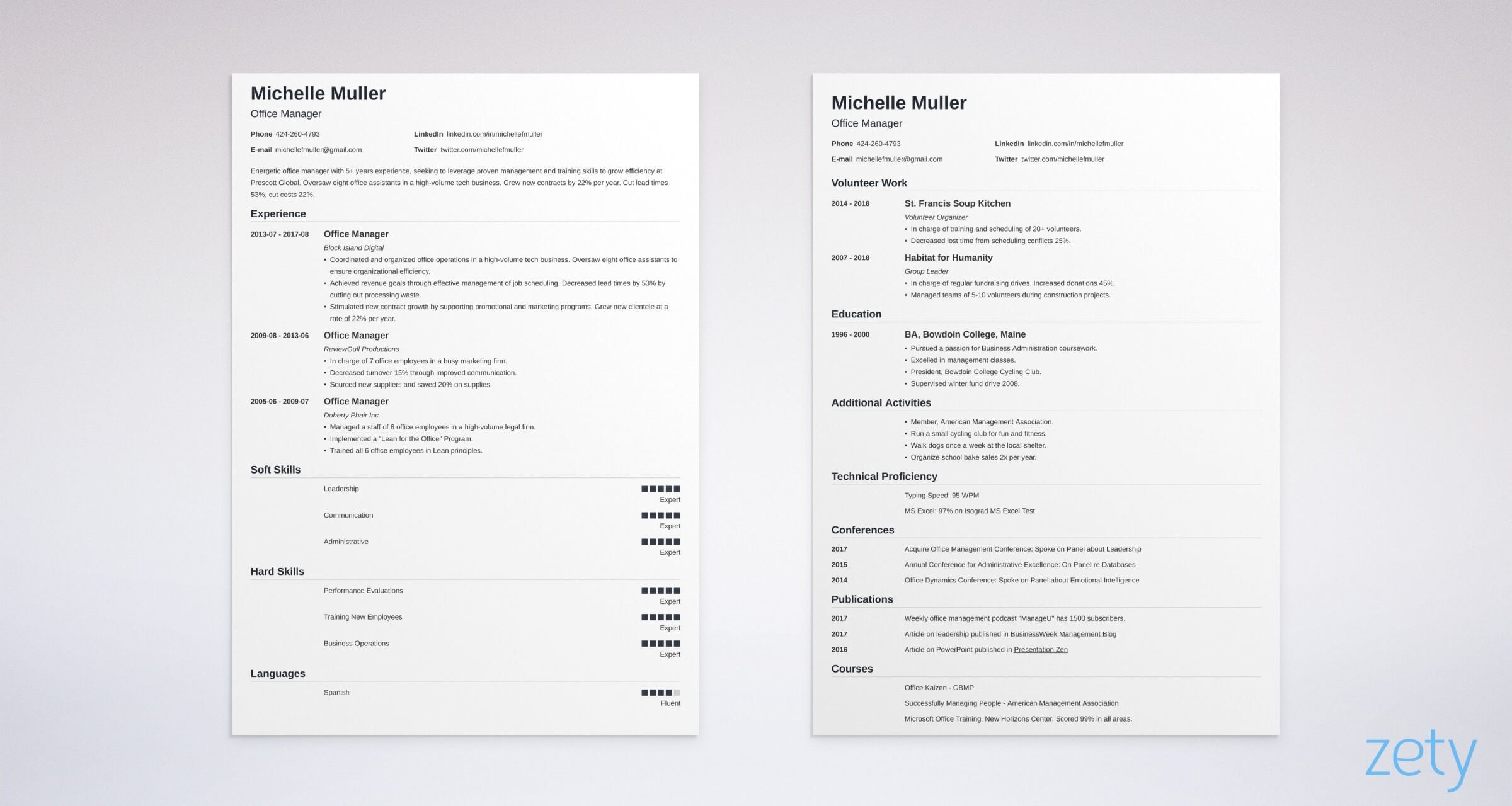 resume it crush your chances format tips best template two nanica1 listing babysitting on Resume Best Pages Resume Template