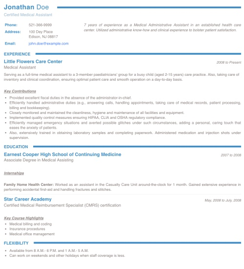 resume maker create standout professional and cv free for freshers collegium physical Resume Free Resume Maker For Freshers