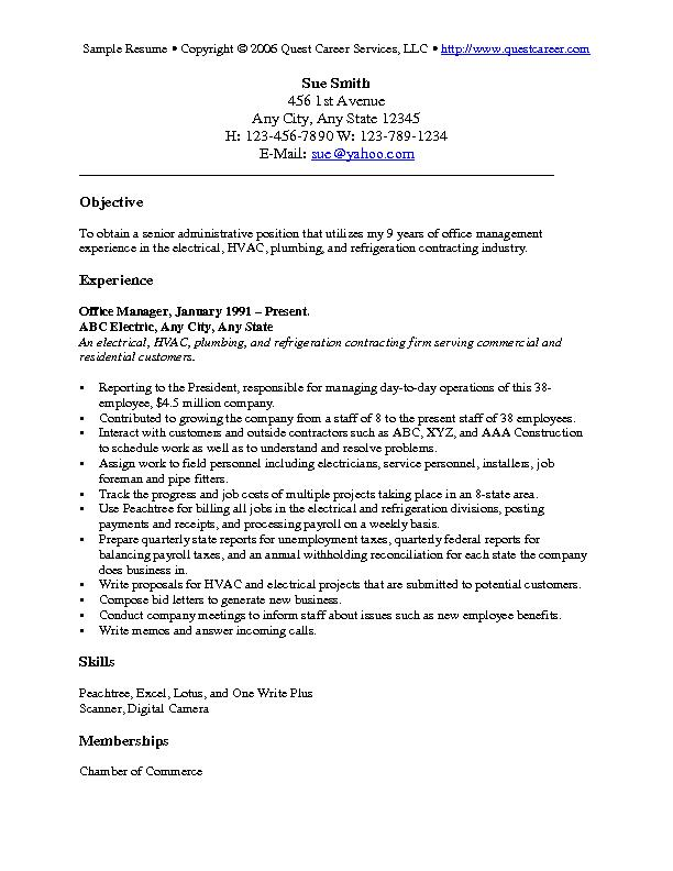 resume objective examples for any job best general the process stacey abrams dental Resume Best General Objective For Resume