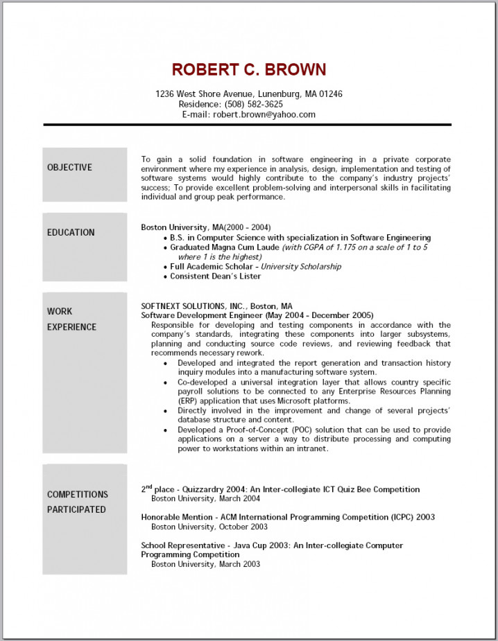 resume objective examples template builder example an of entry level retail tipss und vor Resume An Example Of Resume Objective