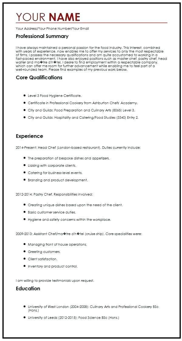 resume personal statement examples mission fashion industry services and cover letter Resume Resume Personal Statement