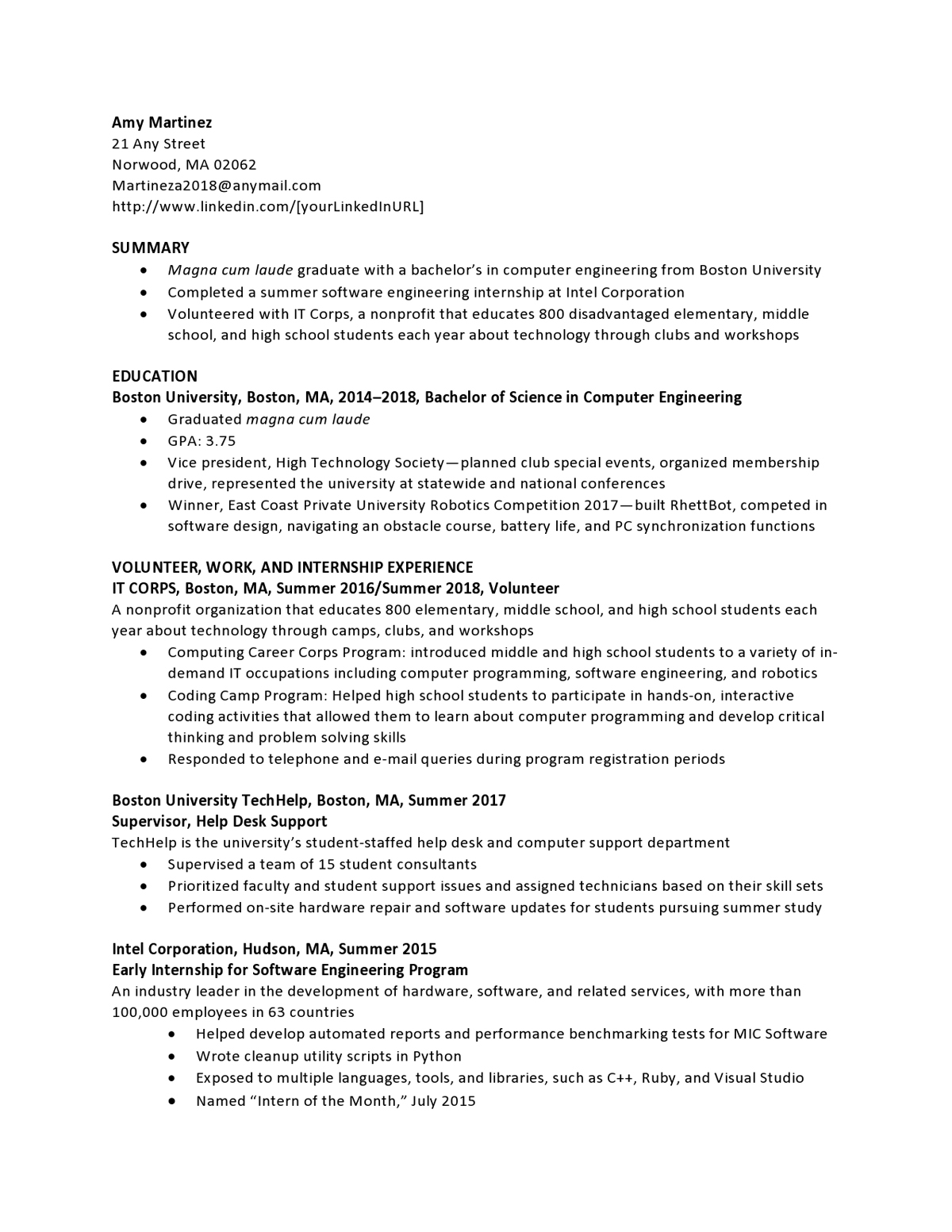 resume samples templates examples vault information technology summary crescoinftech43 Resume Information Technology Summary Resume