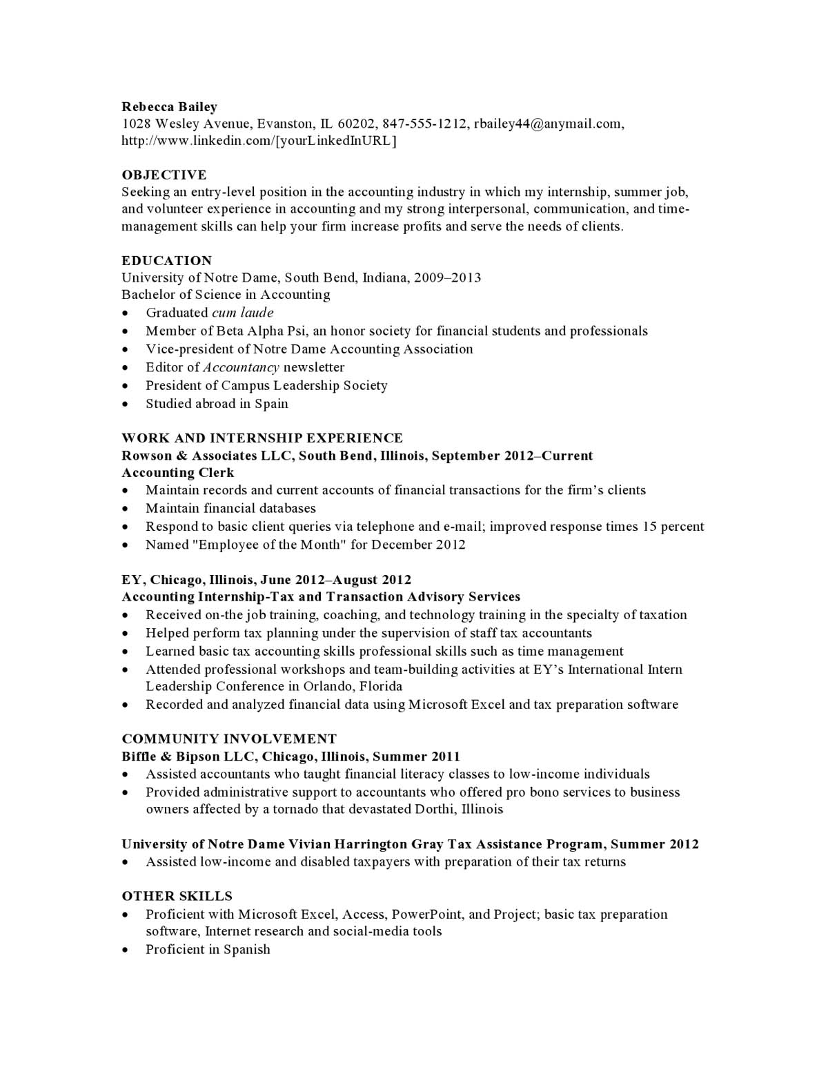 resume samples templates examples vault it professional crescoact19 internship sample for Resume It Professional Resume Samples
