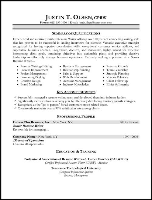 resume samples types of formats examples templates different resumes targeted vita on Resume Different Types Of Resumes