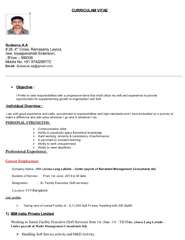 resume sudeen facility executive free high school template nursing pros software engineer Resume Facility Executive Resume