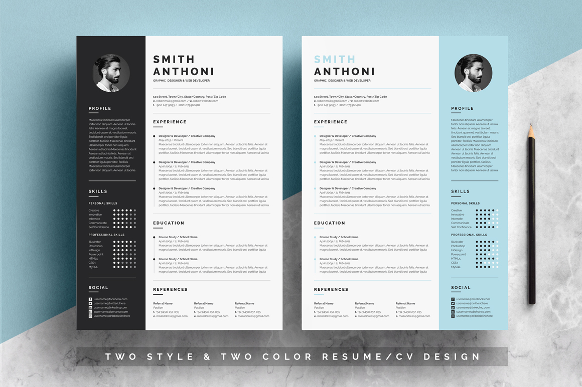 resume template free resumes templates pixelify net two image three business accounting Resume Two Page Resume Template
