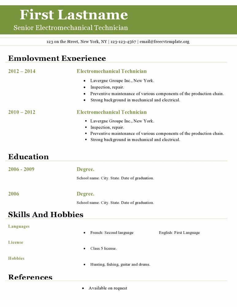 resume template open office best of templates downloadable free wizard word cosmetic Resume Resume Wizard Word 2010