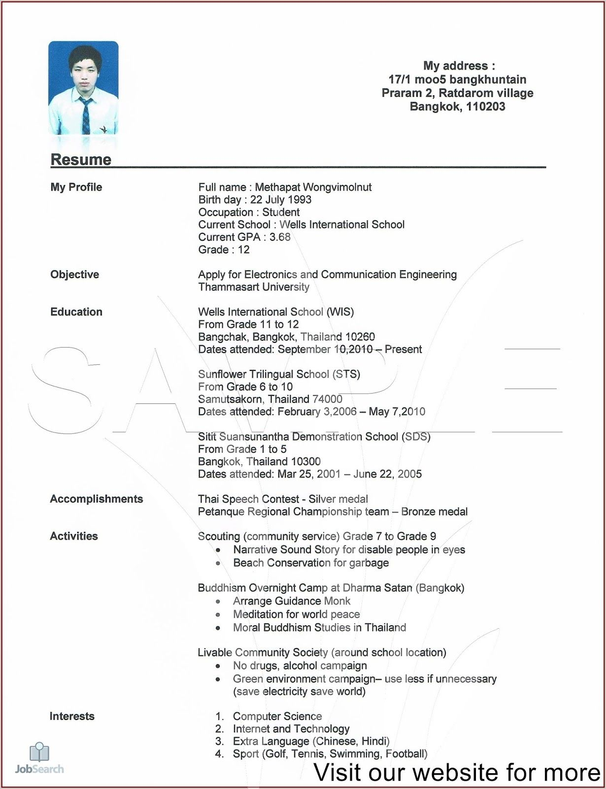 resume template professional cv design free student high school college create and save Resume Create A Resume Online Free And Save