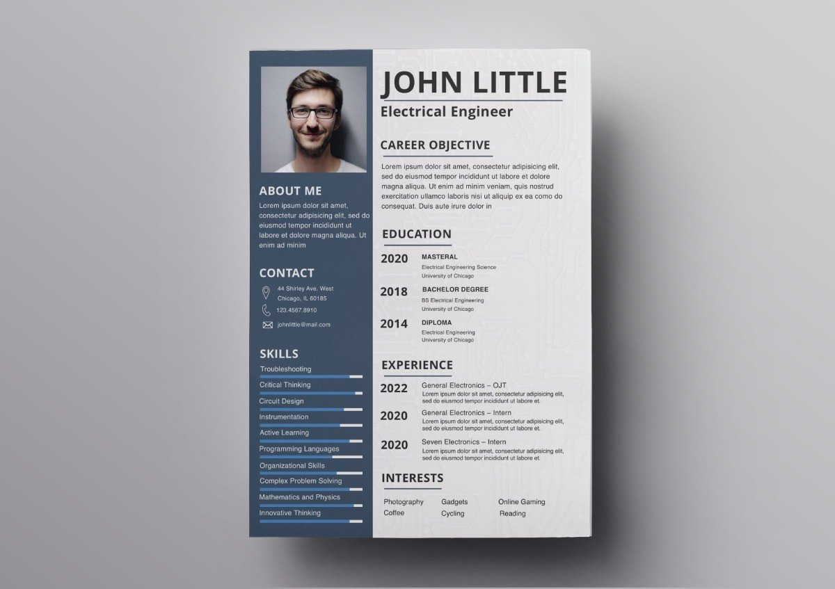 resume templates free for mac best min pmo template experience order medical office Resume Best Resume Templates 2020