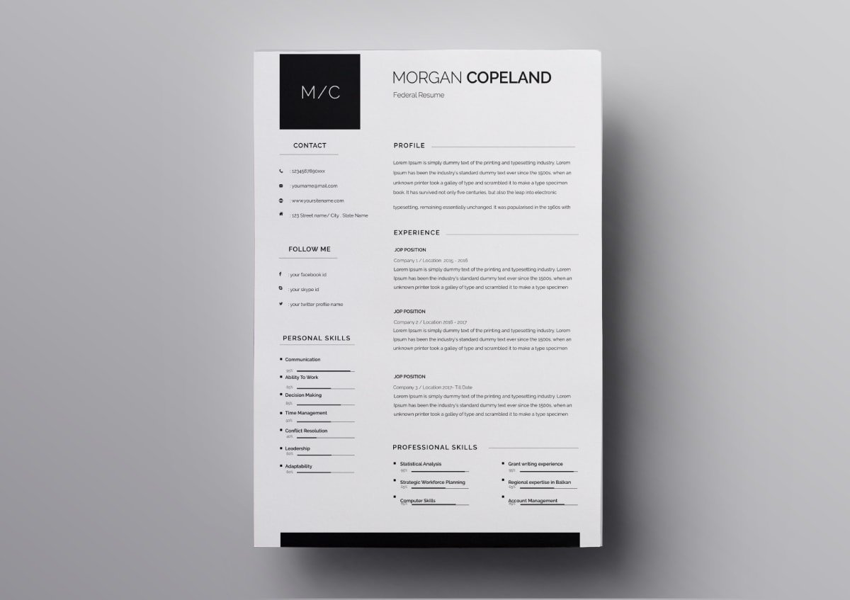 resume templates free for mac best template min informatica data analyst situation task Resume Best Pages Resume Template