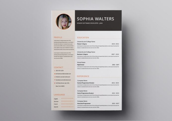 resume templates free for mac one builder min sap production planning respite care Resume One Page Resume Builder