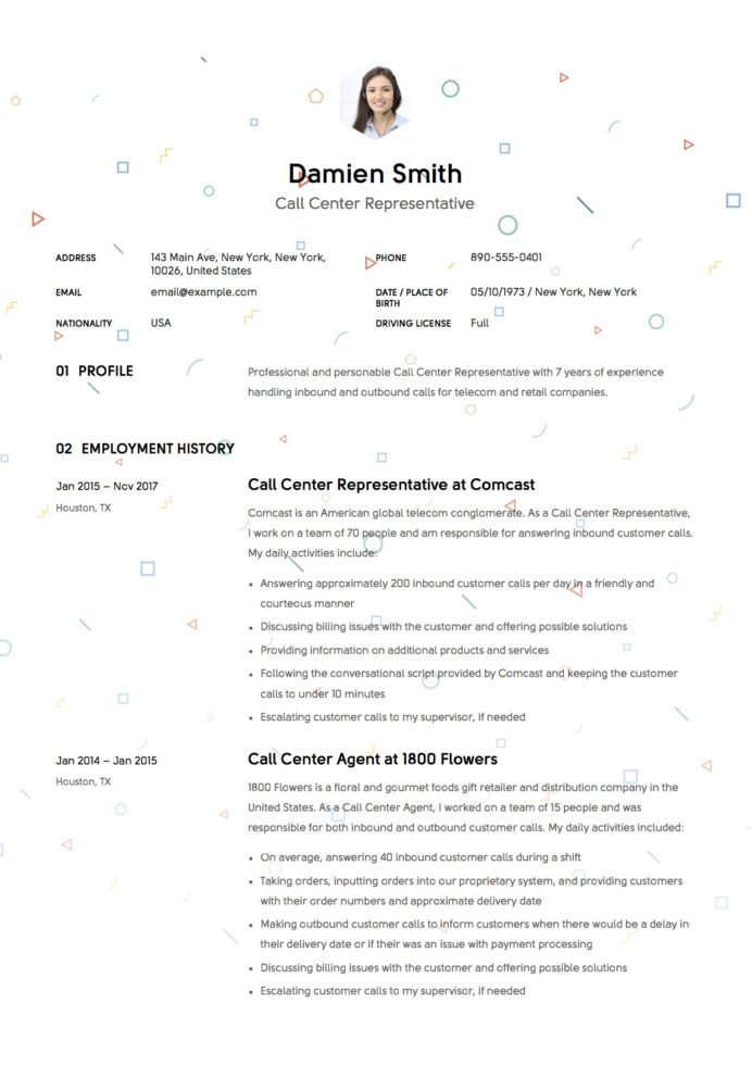 resume templates pdf word free downloads and guides blank format template call center Resume Blank Resume Format Pdf Free Download