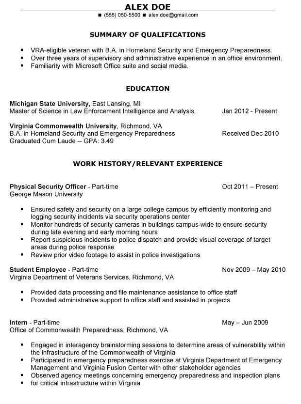 resume templates veterans examples teaching writing services affairs builder lifeguard Resume Free Resume Builder For Veterans