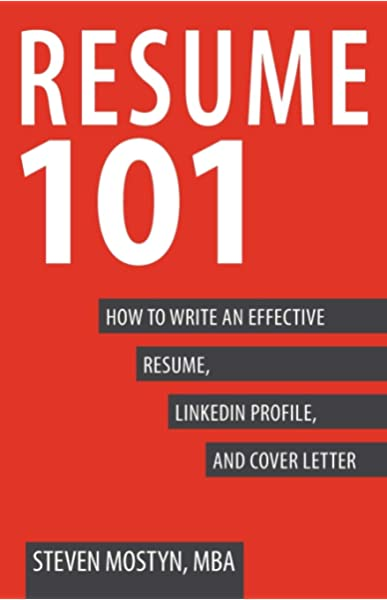 resume to write an effective linkedin profile and cover letter mostyn steven books Resume Resume And Linkedin Profile Writing