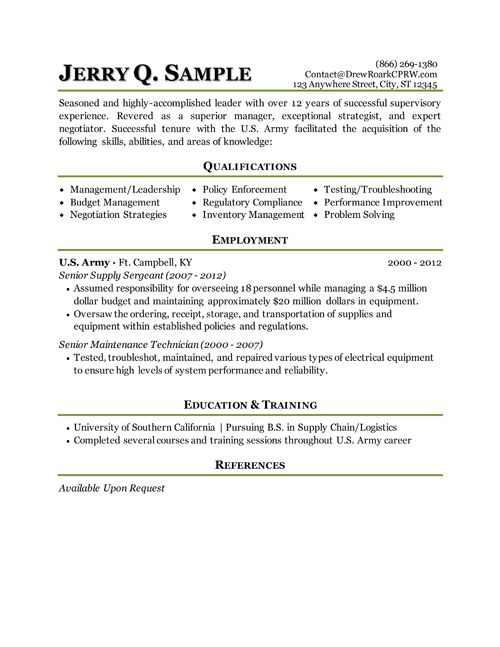 resume writer service for military on negotiation skills examples putting together and Resume Military Service On Resume