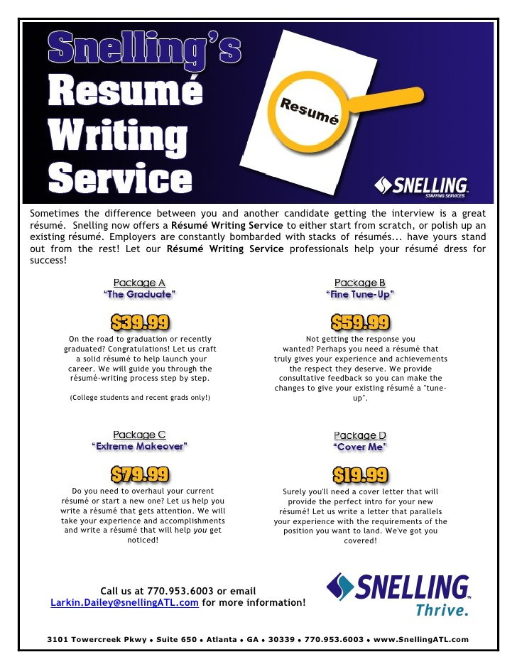 resume writing services flyer care worker examples cna responsibilities event management Resume Resume Writing Services