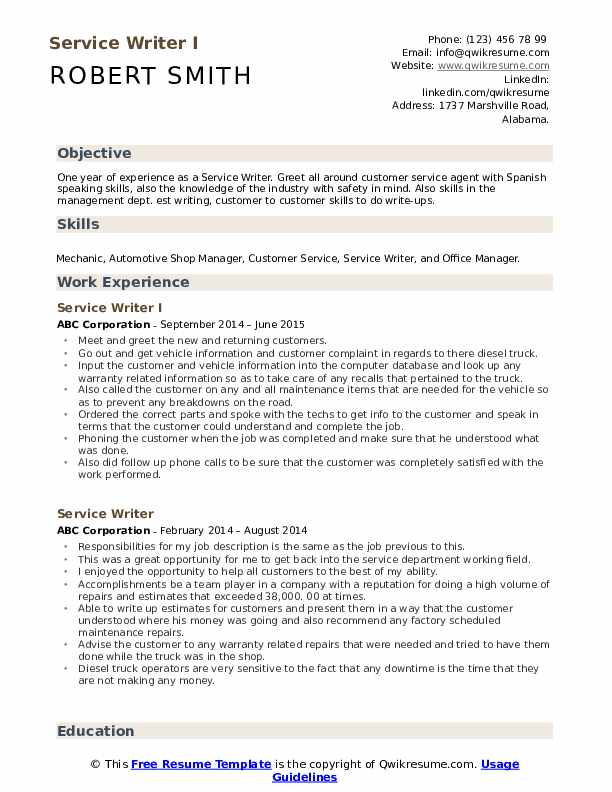 resume writing services in service writer pdf drop technician sample profile samples Resume Online Resume Writing Services
