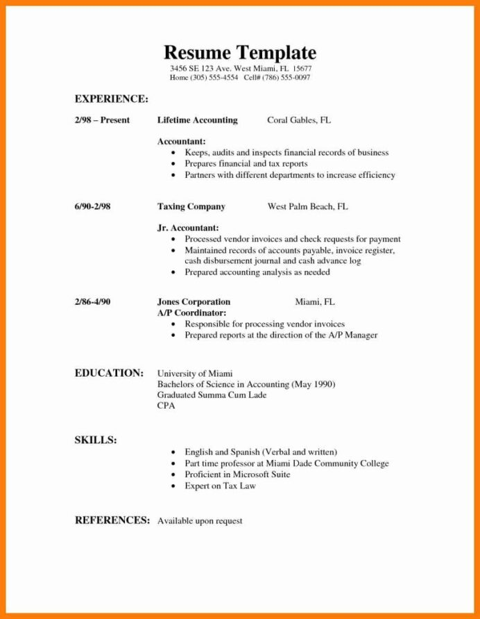 resumes for high school students lovely part time job resume example in template examples Resume Resume For Part Time Job Student