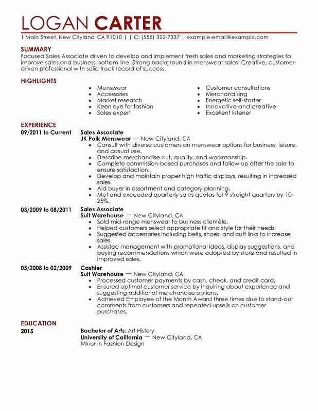 retail associate resume examples unique level free to try perfect example some good Resume Retail Sales Associate Resume