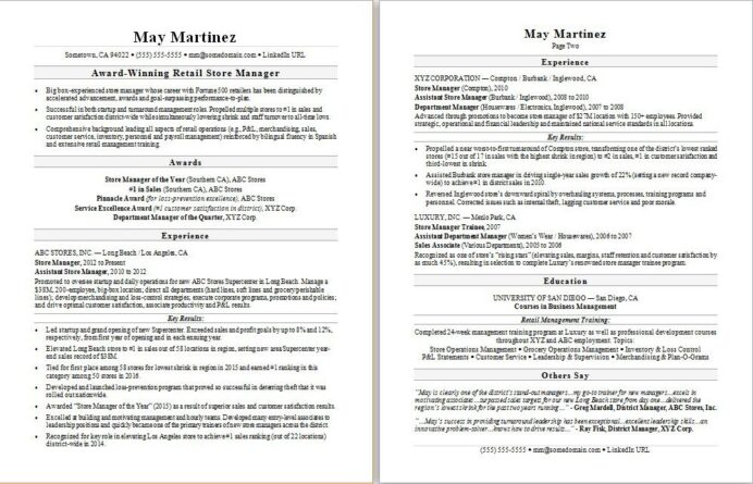 retail manager resume sample monster store template ats checker paper watermark customer Resume Retail Store Resume Template