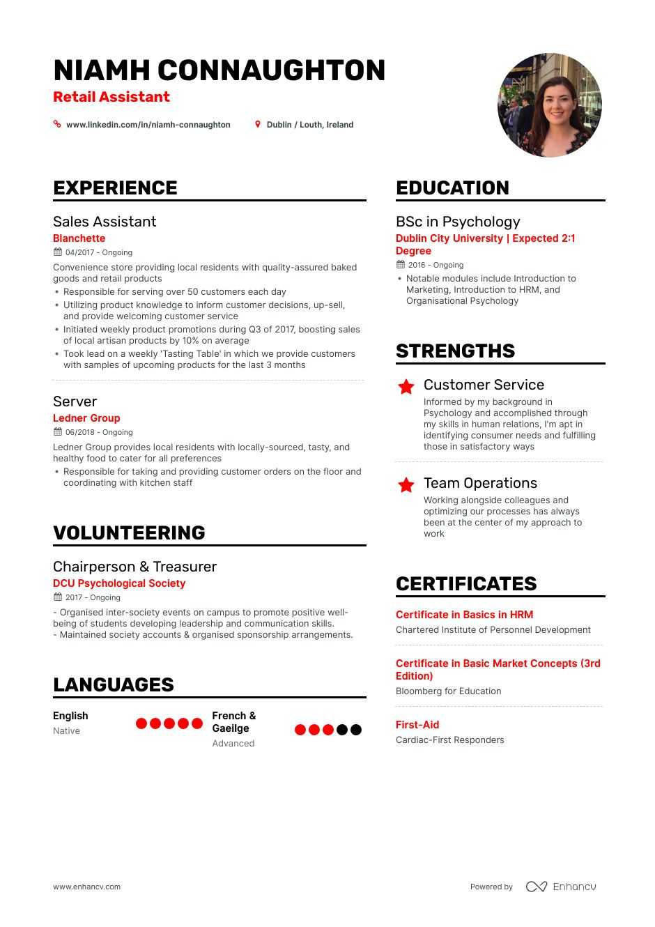 retail resume examples and skills you need to get hired suggestions ivory paper pictorial Resume Resume Suggestions Skills
