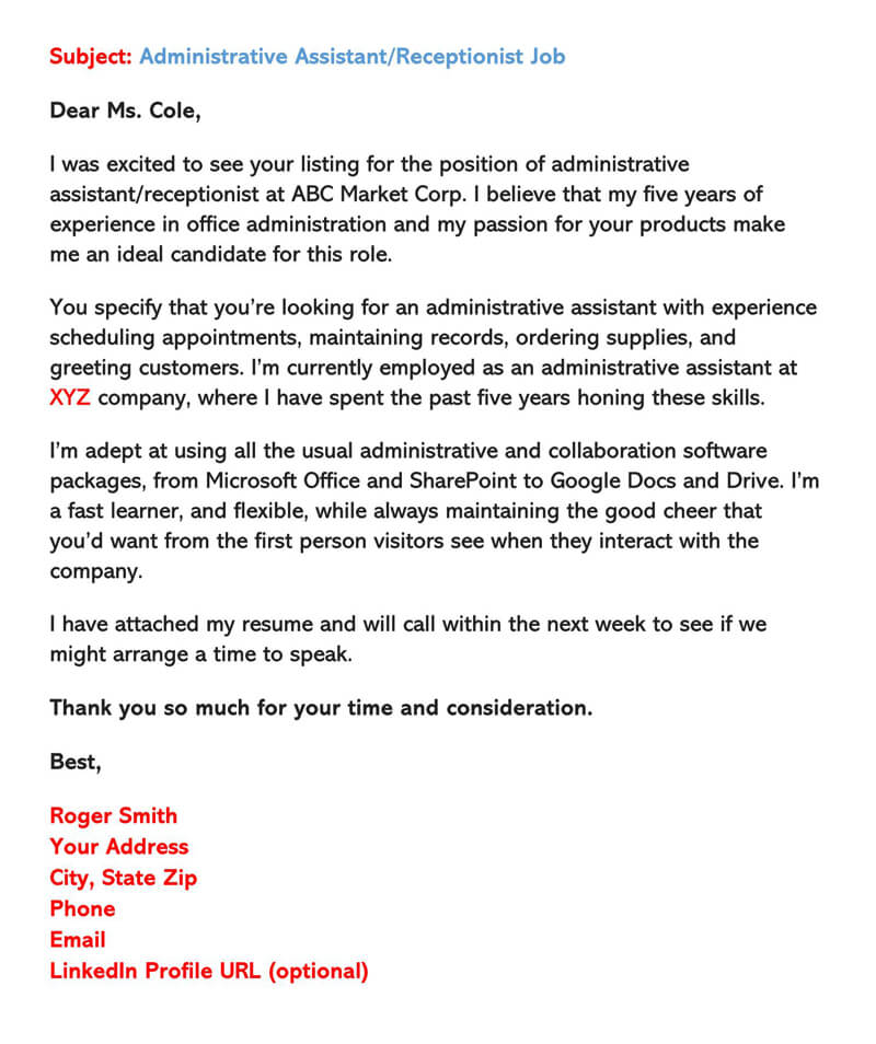 sample email cover letters examples to write and send letter for sending resume via Resume Sample Letter For Sending Resume Via Email