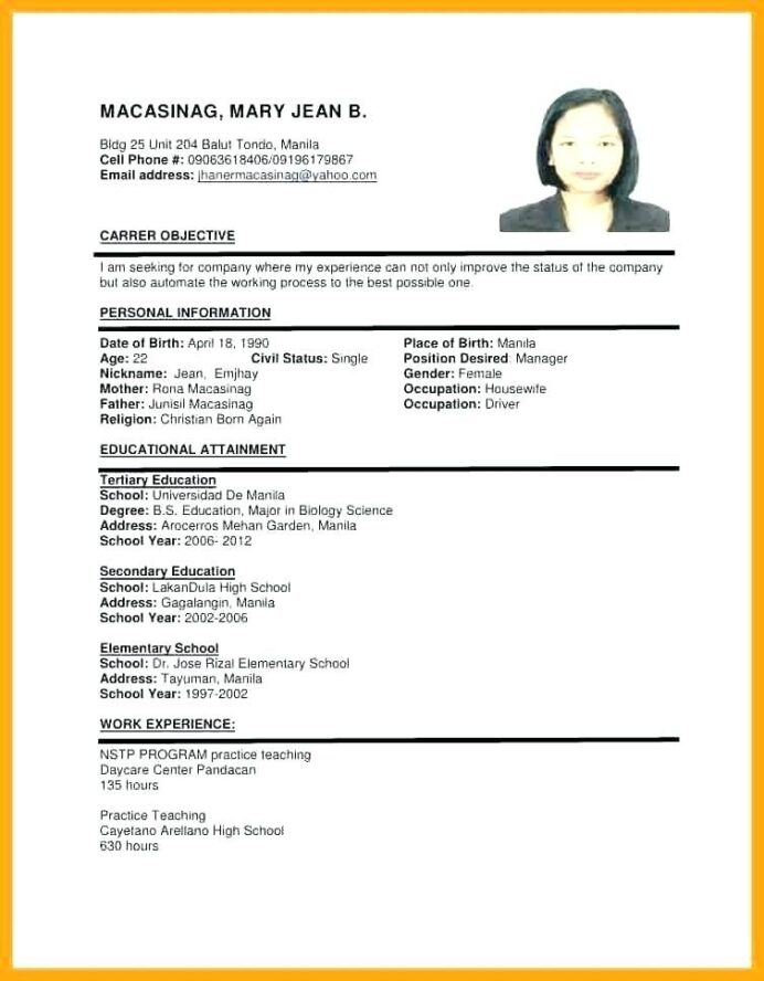 sample of resume format for job application templates examples company litigation Resume Company Resume Sample Format