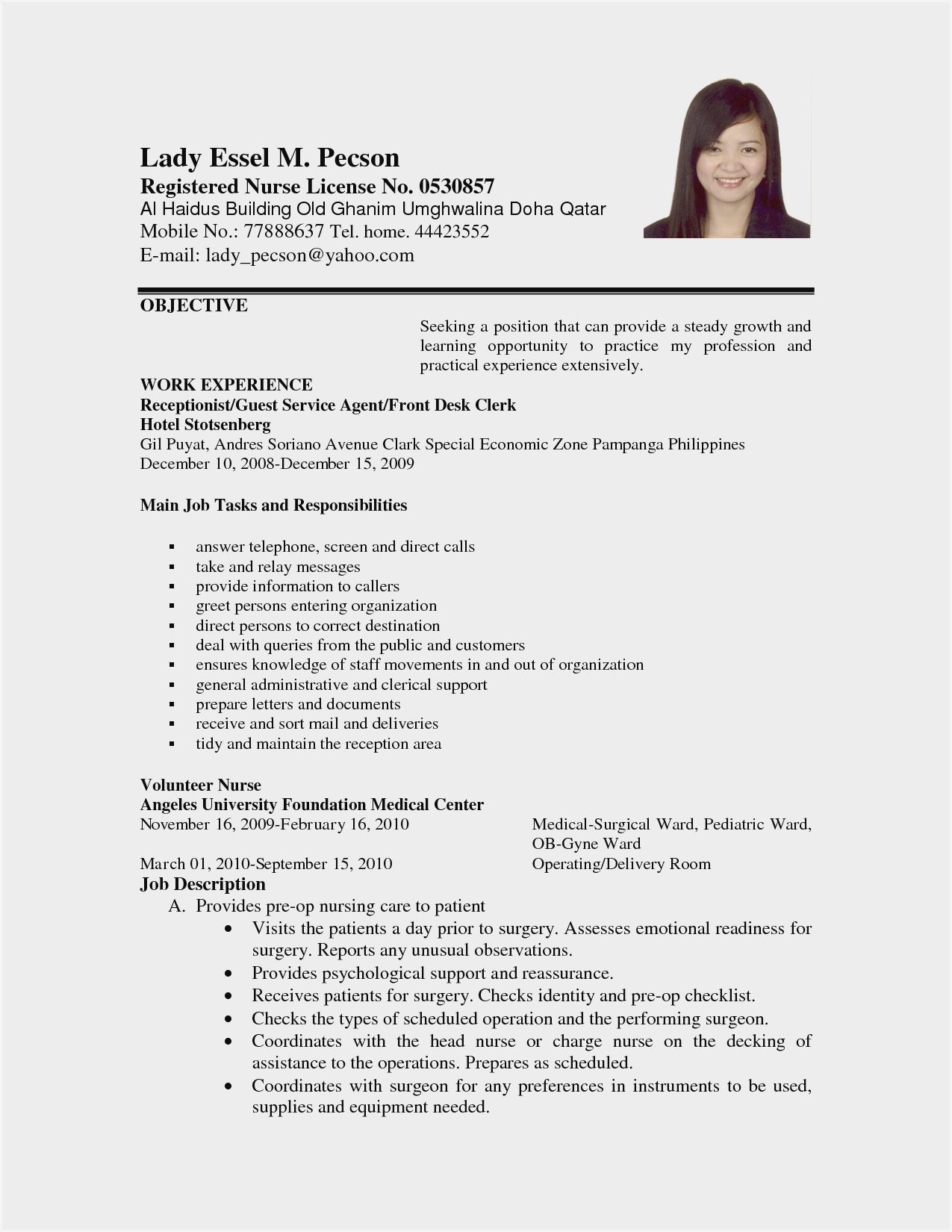 sample resume format for work abroad applying job comments about file examples caregiver Resume Resume For Applying Job