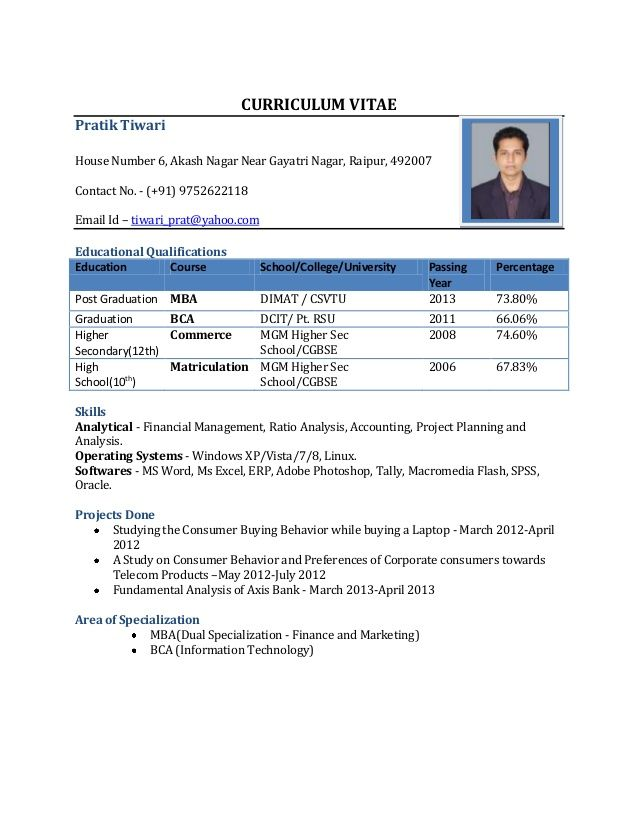 sample resume mba fresher zm resumes best format for freshers pdf pmo lead tableau Resume Resume Format For Freshers Pdf