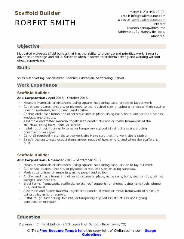 scaffold builder resume samples qwikresume summary for pdf master example objective Resume Summary Builder For Resume
