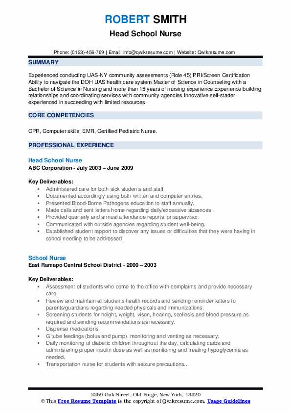 school nurse resume samples qwikresume labor and delivery pdf headline for embedded Resume Labor And Delivery Nurse Resume