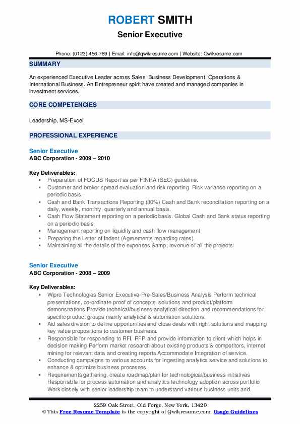 senior executive resume samples qwikresume examples pdf substitute teacher description Resume Senior Executive Resume Examples