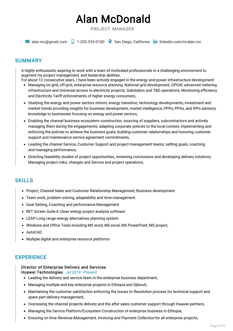 senior project manager resume sample cv resumekraft some college on activities for Resume Senior Project Manager Resume