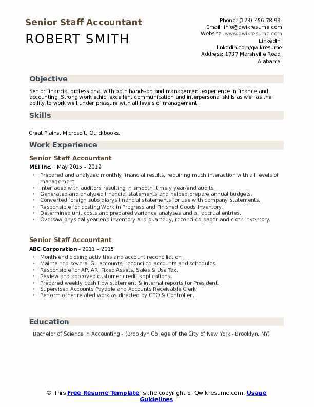 senior staff accountant resume samples qwikresume sample pdf for backend process Resume Senior Staff Accountant Resume Sample