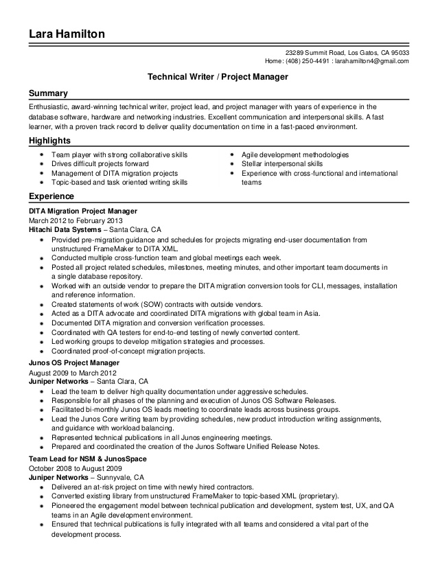 senior technical writer project manager resume template aml business analyst best for any Resume Technical Writer Resume Template