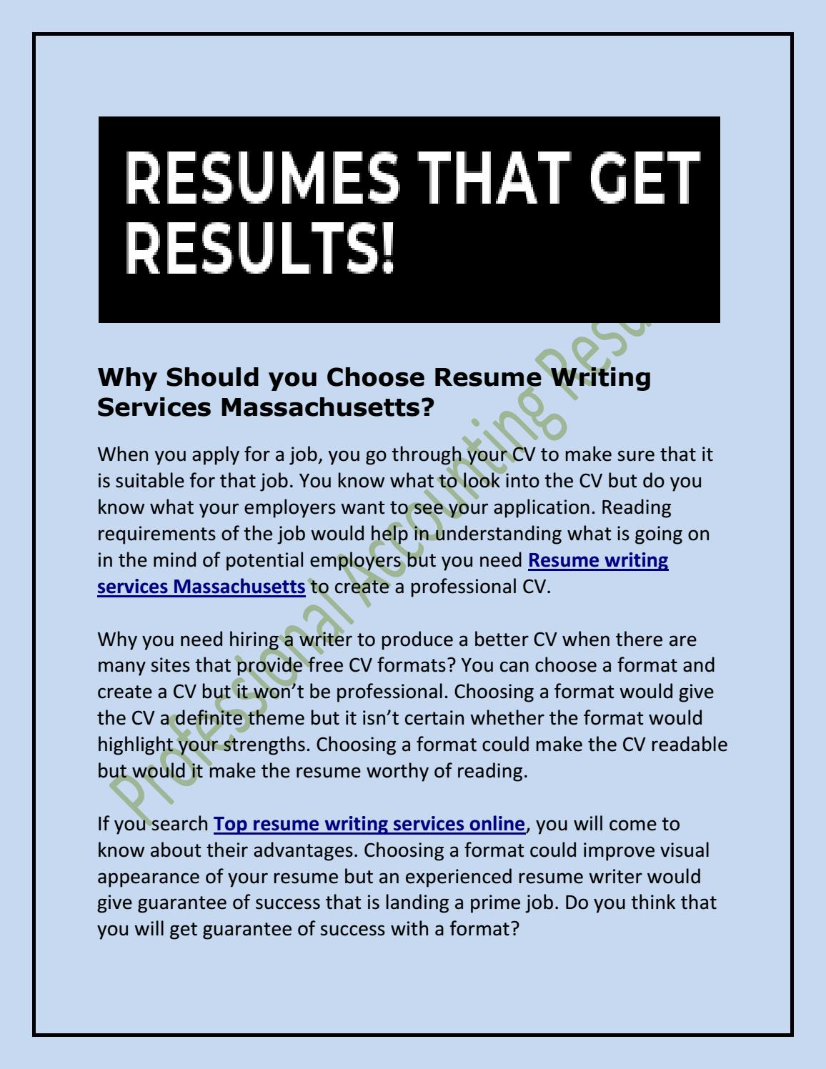should you choose resume writing services by albert dicosta issuu resumes for employers Resume Online Resumes For Employers
