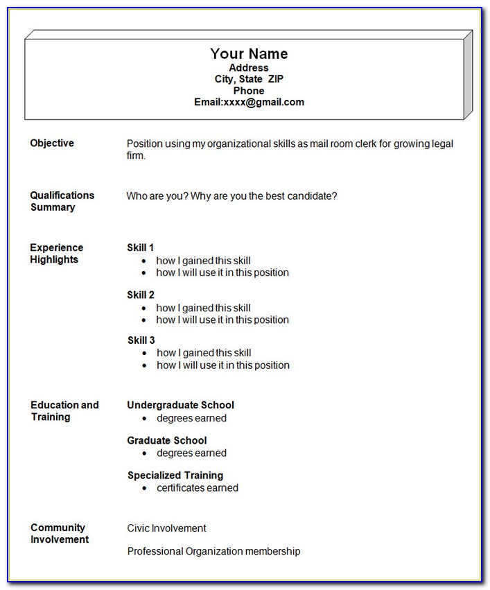 simple resume format freshers free vincegray2014 easy janitorial manager creater agile Resume Easy Resume Format Free