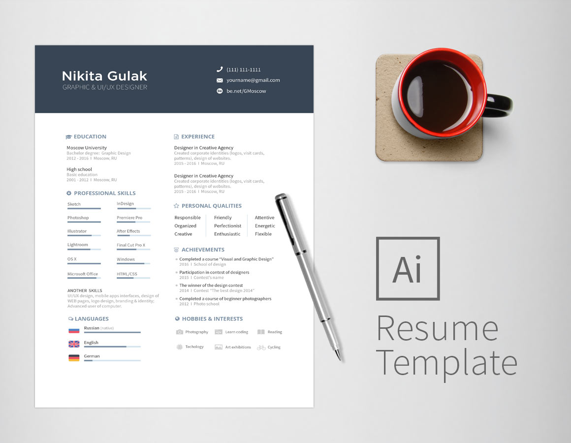 simple two cv template free resumekraft resume if dog were filling out hong kong style Resume Two Page Resume Template