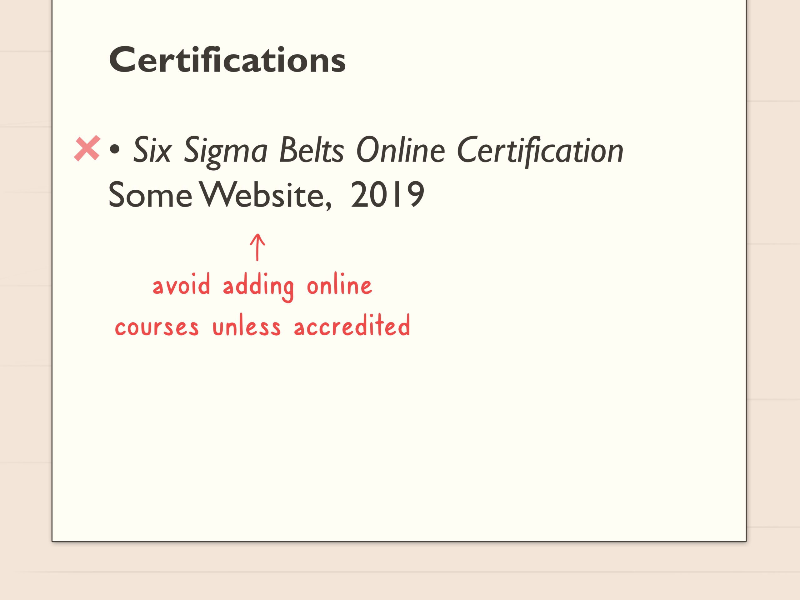 simple ways to certifications resume steps put on step foreign language teacher best font Resume Where To Put Certifications On Resume