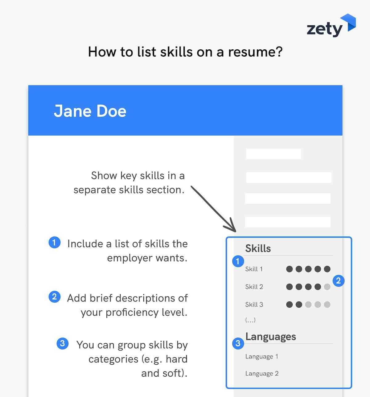 skills for resume best of examples all jobs section example to on general administration Resume Skills Section Of Resume Example