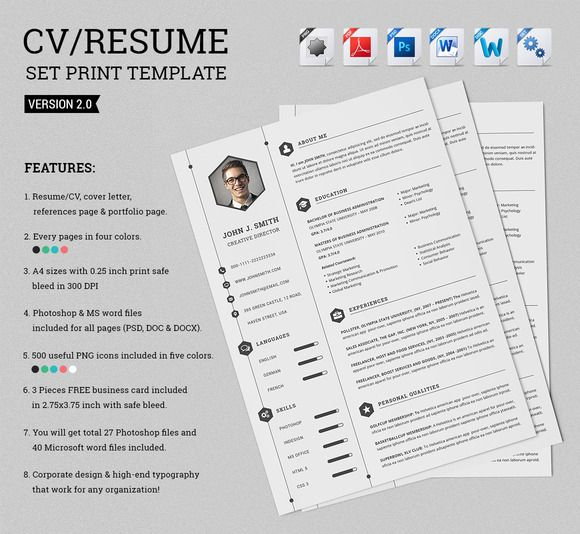 smart resume cv set print templates lettering make and for free sample with mba degree Resume Make And Print Resume For Free