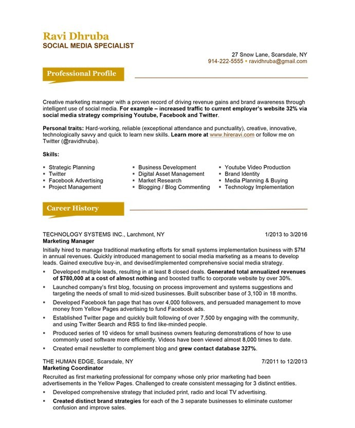 social media specialist free resume samples blue sky resumes template ravi dhruba after Resume Social Media Resume Template