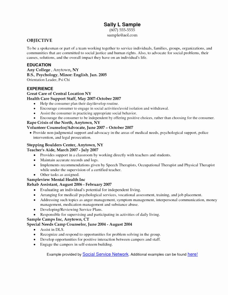 social work resume example fresh objective statement writing examples worker nurse Resume Social Worker Resume Objective